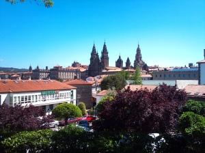 Santiago de Compostela from the Alameda