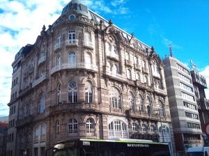 Vigo city center