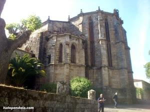 San Domingo gothic church in Ribadavia